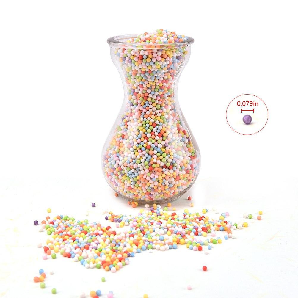 Colorful Bubble Decoration Styrofoam Balls Mini Foam Balls