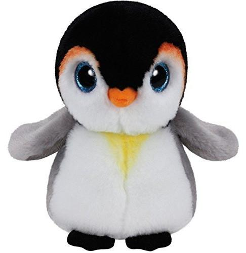 Ty Beanie Boos Waddles Penelope Pongo Emperor Penguin Plush Toy Large 15cm/25cm Cute Stuffed Animals Big Eyes Kids Toys Gifts