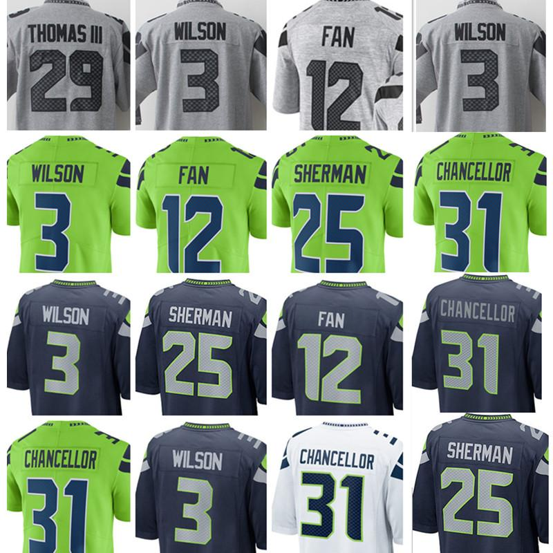 brand new 779e3 79477 sale kam chancellor color rush jersey 5c2bb 1bfe6