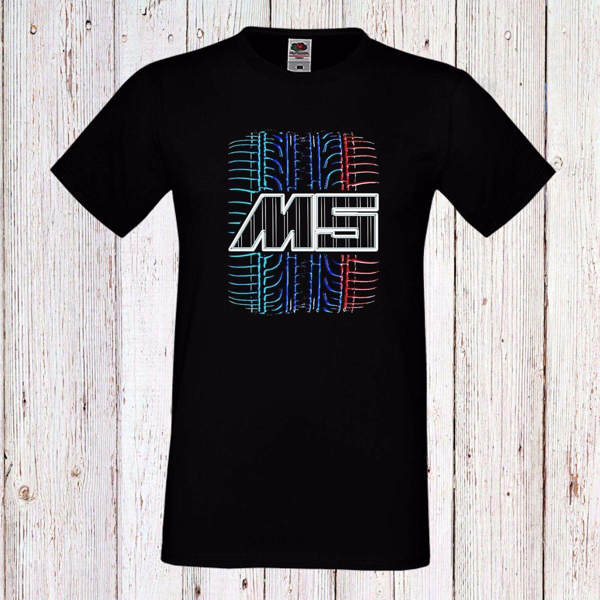 78c86bf14 BMW100% Cotton Print Men O Neck High Quality Hot Sell M5 MEN HERREN T SHIRT  CAR LONG SHORT SLEEVES Cool T Shirts For Boys Online Cool Team Shirts From  ...