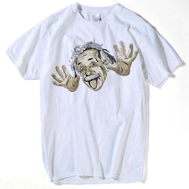 4ec81e863d818 Compre Ciência Matemática T Shirt Para O Menino Menina Gráfico 3d T Shirt  Das Mulheres Dos Homens Engraçado Imprimir Einstein T Camisa Casual Tops  Tamanho ...