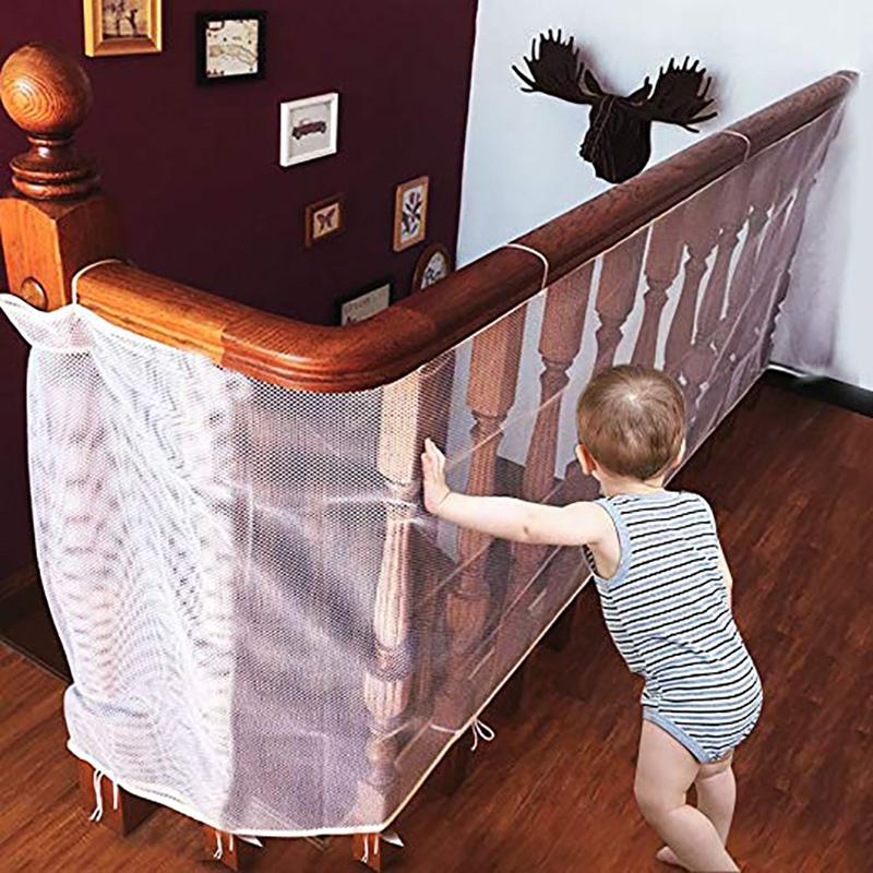 2018 Baby Gate Kids Safety Thickening Fence Children Protection Safety  Products Balcony Stair Gate Mesh Portable Fence For Children From Namenew,  ...