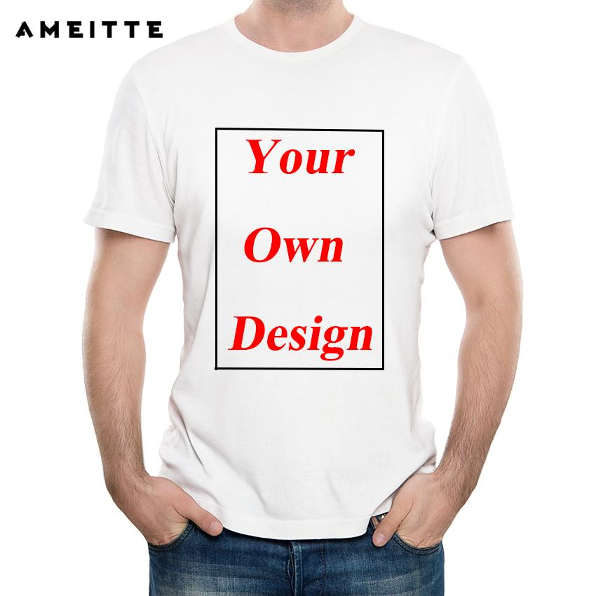 fd31475a5622 Customized Men'S T Shirt Print Your Own Design High Quality Send Out In 3  Days Personalized T Shirt T Shirt Logos From Milemelo, $24.2| DHgate.Com