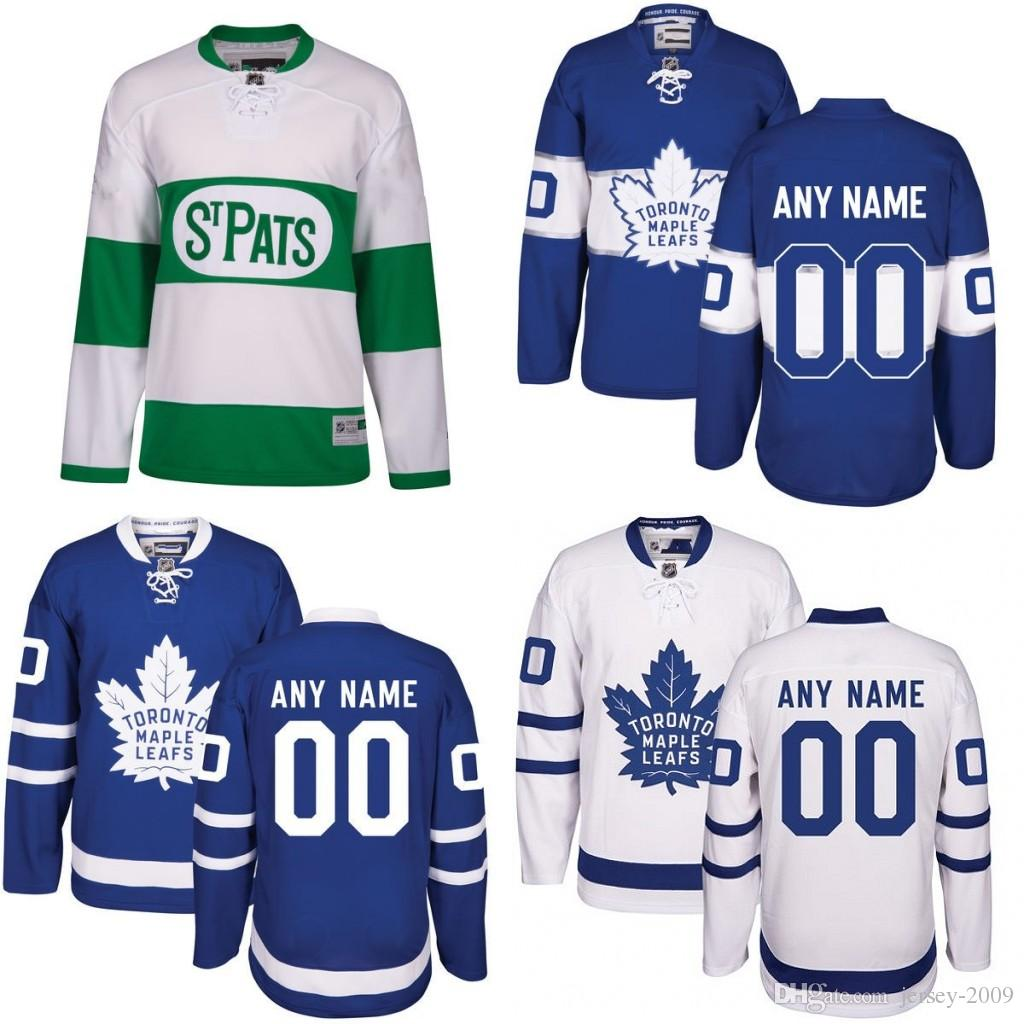 9039b1059be 2016 Customized Men's Toronto Maple Leafs custom Any Name Any Number Ice  Hockey Jersey,Authentic Jersey Stitched Accept Mix Ord size S-3XL