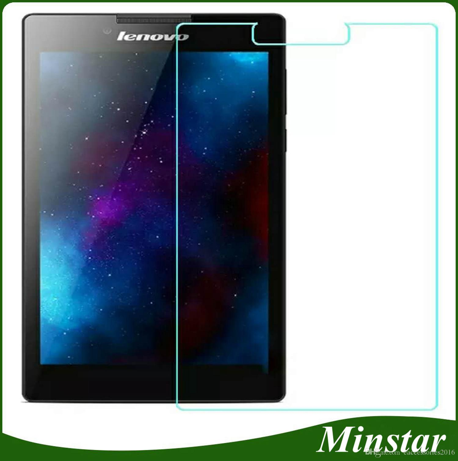 For Lenovo Tab 2 A7 30 A7 20 A7 10 7 Inch A8 50 8 A10 70 10 1 Tablet Tempered Glass Tab2 Screen Protector Guard Protective Best Quality Tempered Glass