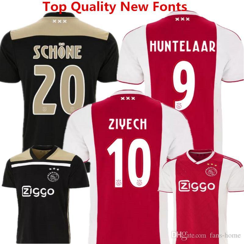 f5613f670 2019 Soccer Jersey Ajax Football Clothes 2018 2019 Netherland League Ajax  Maillot De Foot KLAASSEN MILIK VAN BASTEN ZIYECH DOLBERG Away Kids Kits  From Fans ...