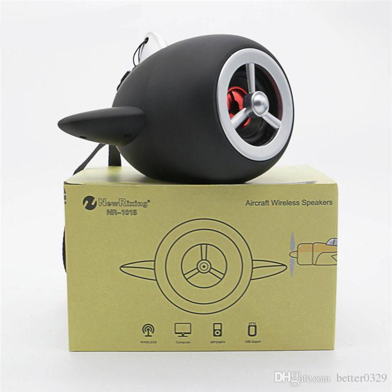 CYBORIS Loudspeaker Mini aircraft propeller design Portable Wireless  Bluetooth Speaker for Samsung iphone Mp3 as children gift