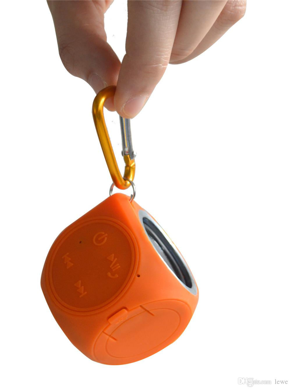 Brand new wholesale waterproof wireless subwoofer bluetooth speakers portable speakers outdoor sport small mini speakers 3W