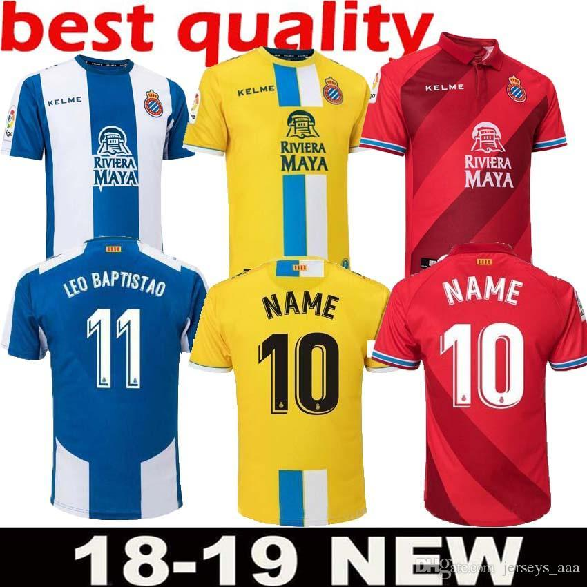 8eead0f7bbb9e 2019 2018 19 RCD Espanyol Soccer Jerseys Futbol Camisetas Real Club  Deportivo Español Football Camisa Shirt Kit Maillot From Jerseys aaa