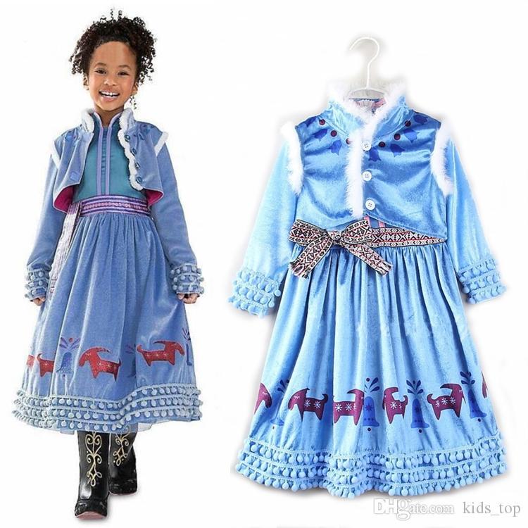Großhandel Heißer Verkauf Mädchen Prinzessin Kleid 4 9 Jahre Alt ...