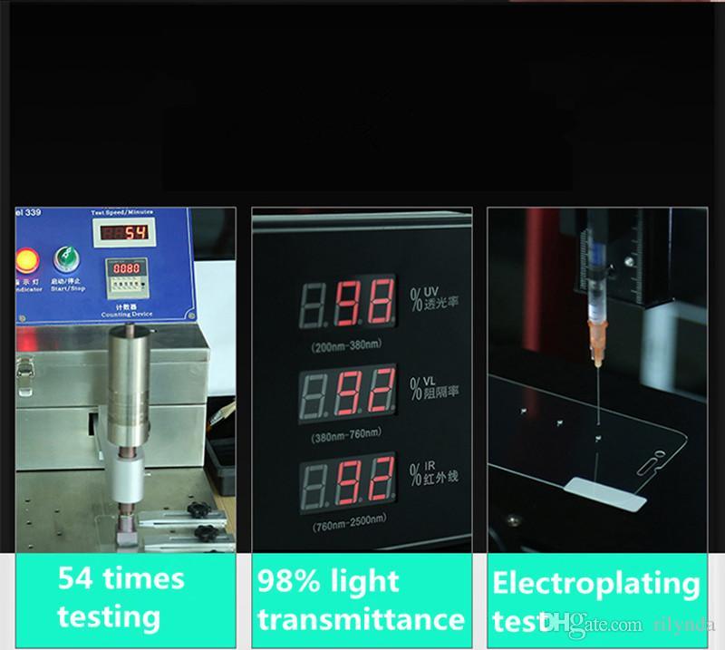 Protecteurs d'écran en verre trempé pour Iphone 8 Top Qualité Meilleur Prix 9H HD Protecteur d'écran en verre trempé sans boîte de détail Expédition DHL