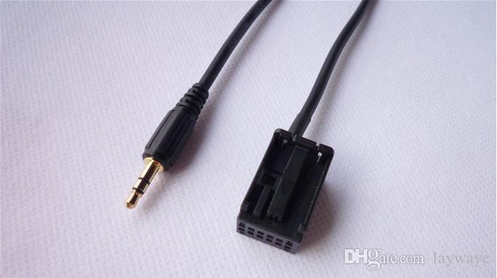 Auto 12 pin eingang AUX kabel linie für BMW E85 E86 Z4 X3 E83 CD 2004 2005 2006 2008 2009 2010