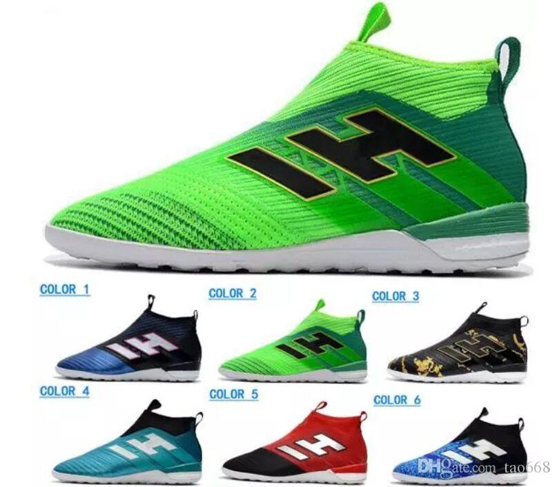 47fa710bab9 High Heel Mens ACE 17+ PureControl TF Soccer Shoes Football Shoes ...