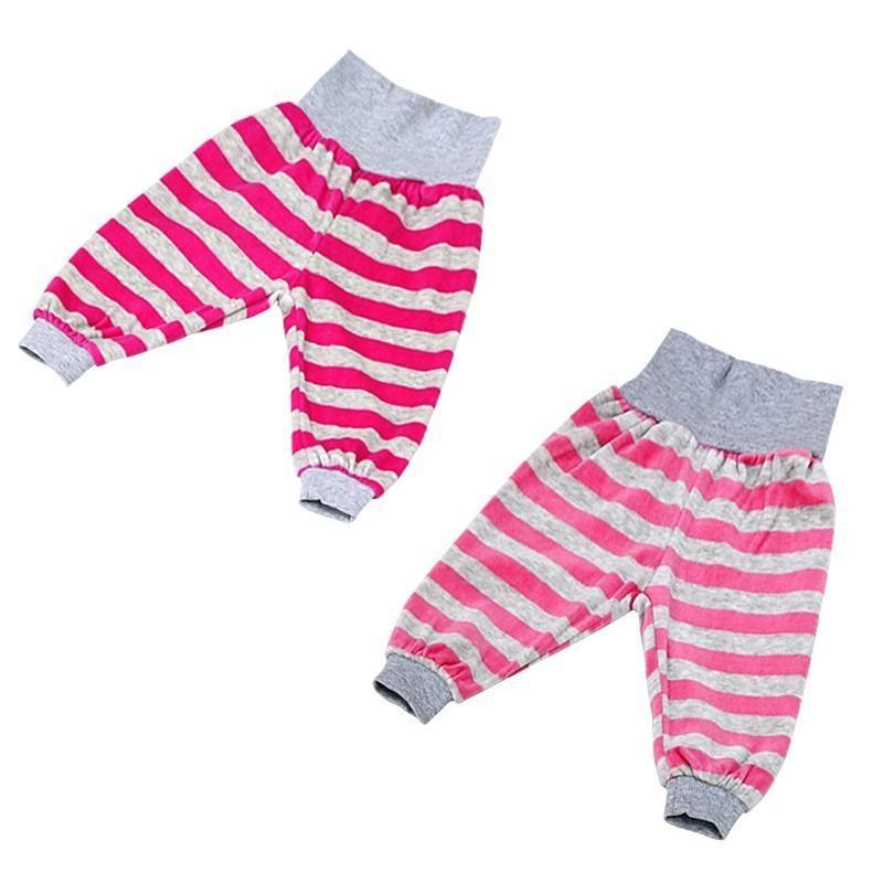 2482ab265 2018 Little Q Baby Velour Fashion Pants Boys And Girls Autumn Long ...