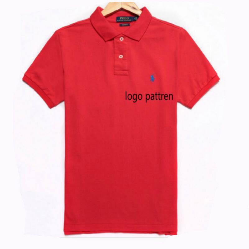 54bcc0c3bf8d9 Compre Diseñador De La Marca De Moda Polo Camiseta De Verano Tops De Hombre  Ropa De Manga Corta Con Patrón Moda De Alta Calidad Marcas De Lujo Camisas  ...