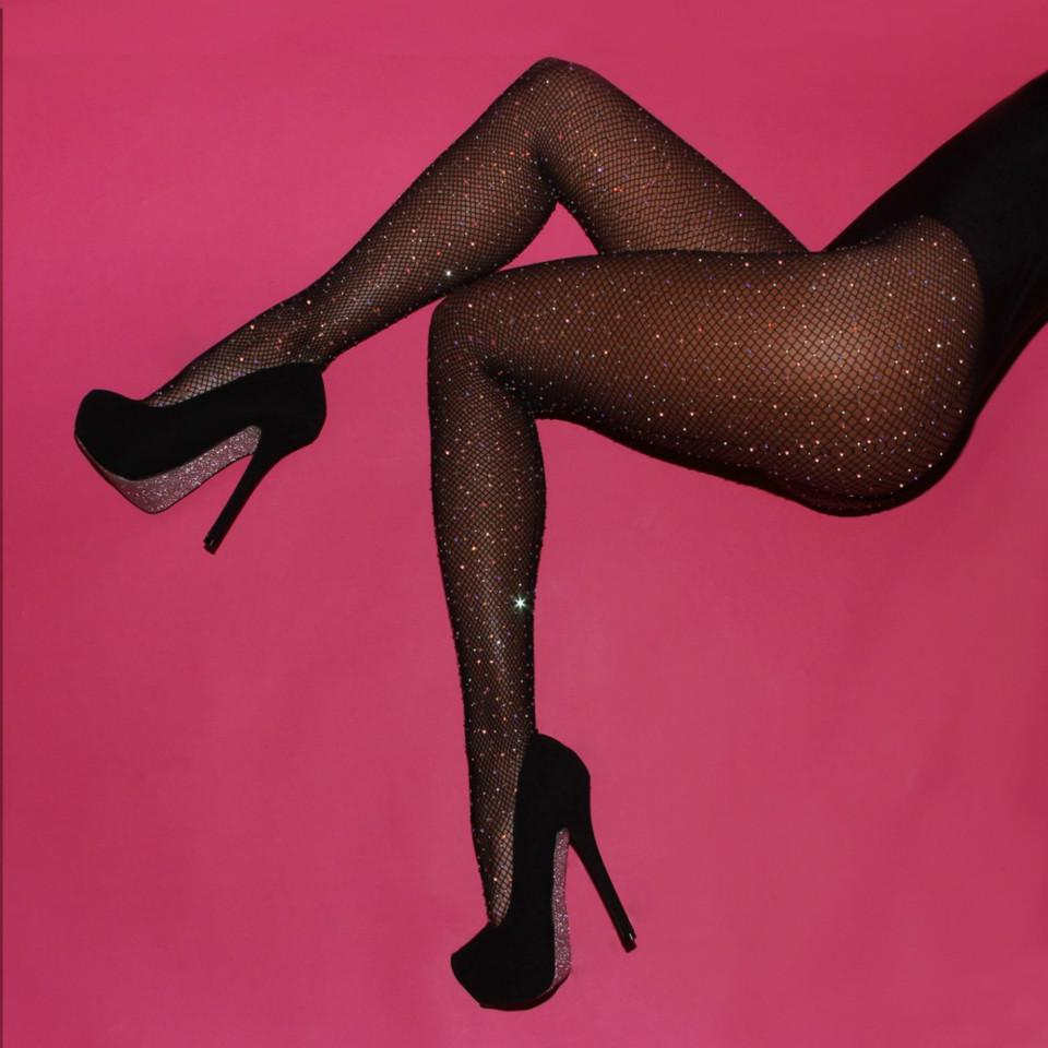 f003444d9f1ea 2019 Women Sexy Pantyhose Grid Tights Panty Stockings Rhinestone Mesh  Fishnet Bling Tights Slim Party Club Female Prom Dance Hosiery From  Ladylbdcloth, ...