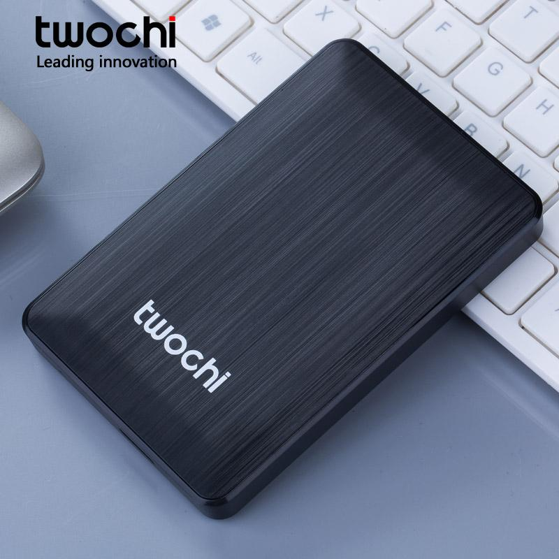 "TWOCHI HDD 2.5"" External Hard Drive 60GB 80GB 120GB 160GB USB2.0 Hard Disk hd disco duro externo for Desktop Laptop New Style"