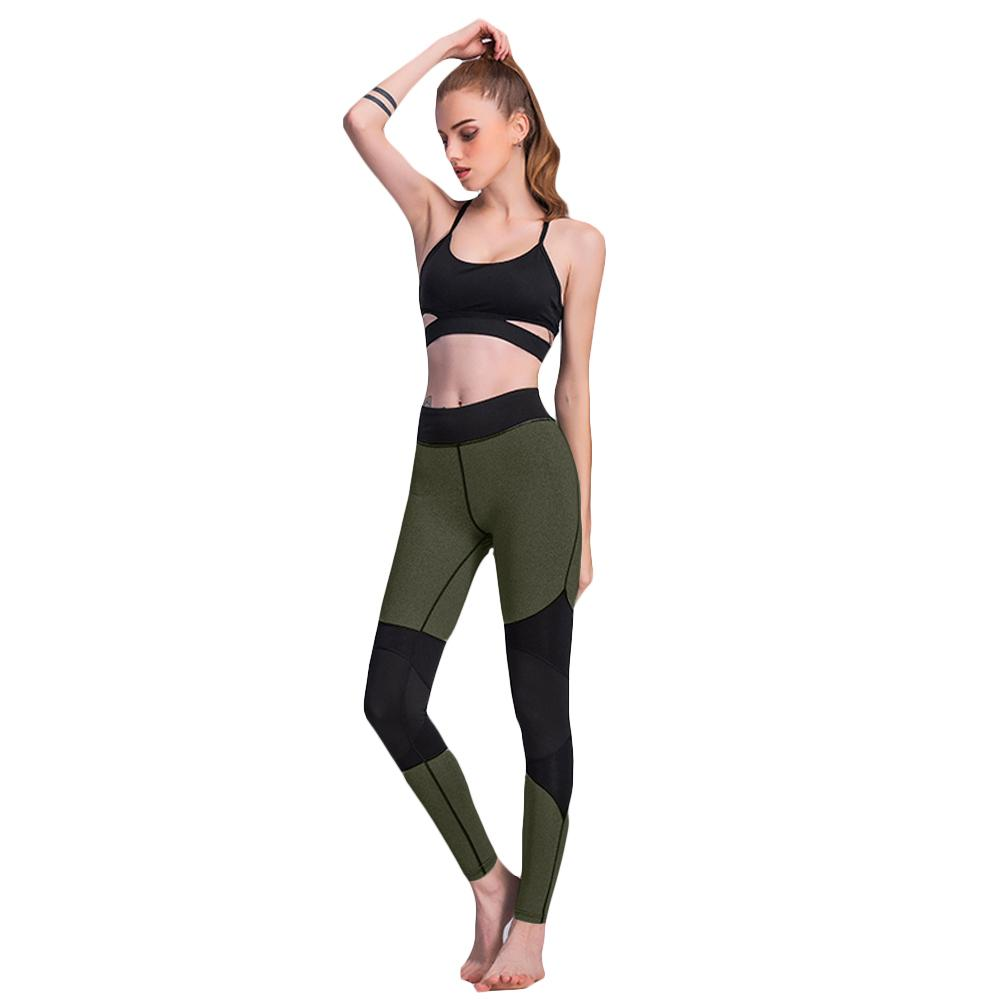 758c36a4c79f9d 2019 New Fashion Sexy Women Contrast Splice Leggings Pants Workout Skinny  Slim Fitness Grey/Green Online with $38.95/Piece on Jincaile07's Store |  DHgate. ...