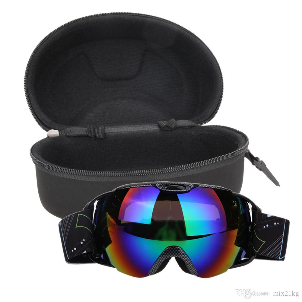 84781f133658 2019 Double Lens UV400 Big Ski Mask Glasses Skiing Goggles Anti Fog Ski  Snowboard Snowboarding Winter Ice Snow Sports Eyewear From Mix21kg
