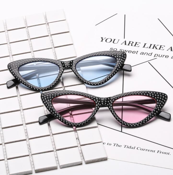 Compre Moda Pequeno Olho De Gato Óculos De Sol Das Mulheres De Luxo Da  Marca De Diamante Triângulo Óculos De Luxo Strass Óculos De Sol 8 Projeto  LJJK999 De ... 5ad39d1fe8