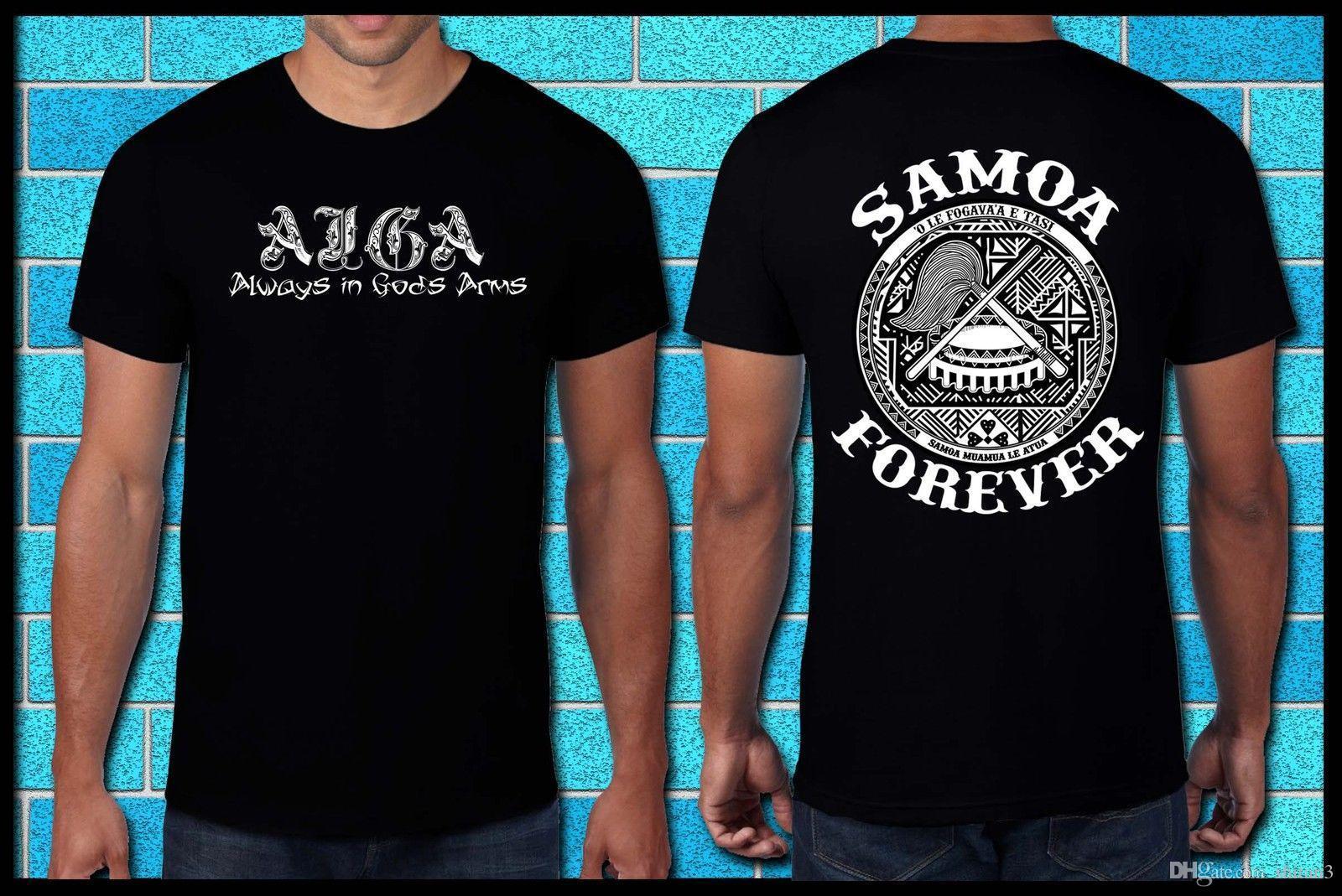 Mens T Shirt Or Singlet Samoan Samoa Heritage Aiga Usos Family
