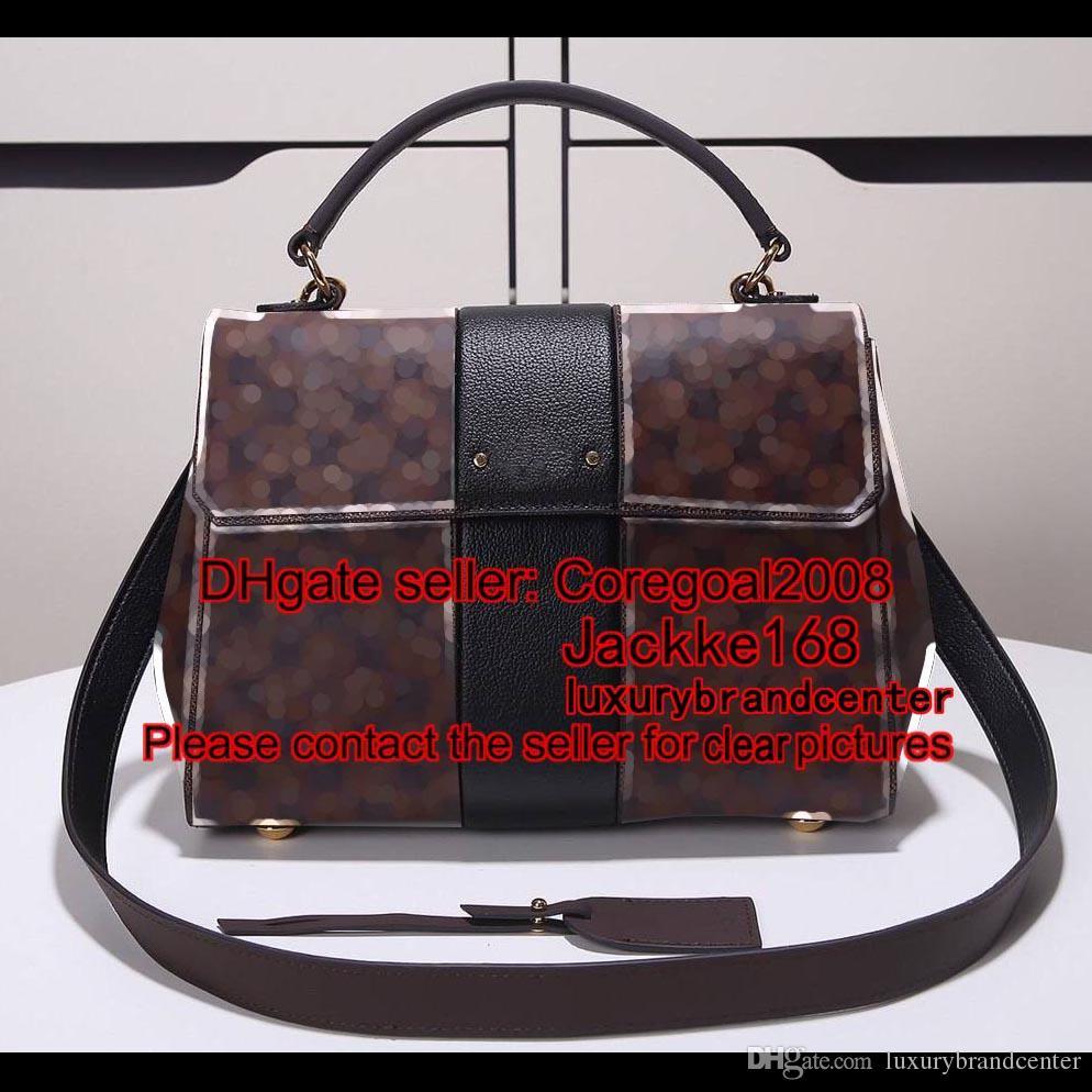 bdd180770224 2018 Нью-Бонд-стрит N64416 N64417 44053 женские сумки щитка сумка кофе плед  известный роскошный Франция сумка кошелек сумка m40459 M40521
