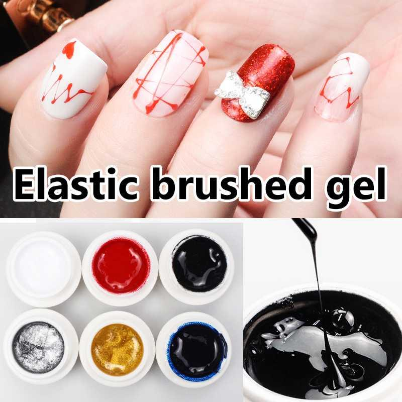 Cokekou Nail Creative Stretching Gel Painting Flower Gel