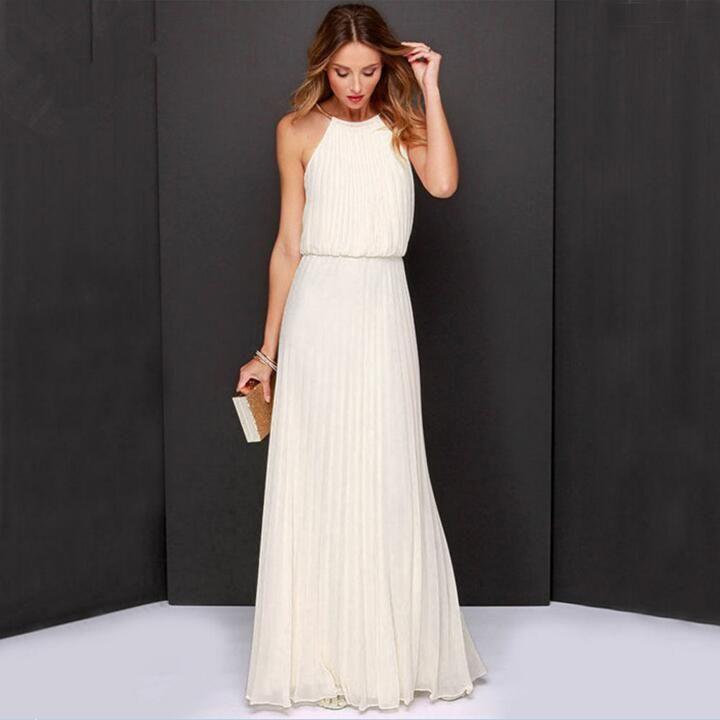 Fitted Long Summer Dresses for Girls