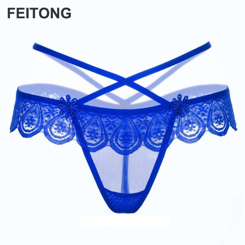 d957c06af73e Bragas para las mujeres de encaje tanga sexy de encaje de cintura baja  calzoncillos huecos mujeres tangas bragas tanga al por mayor al por mayor  #EW