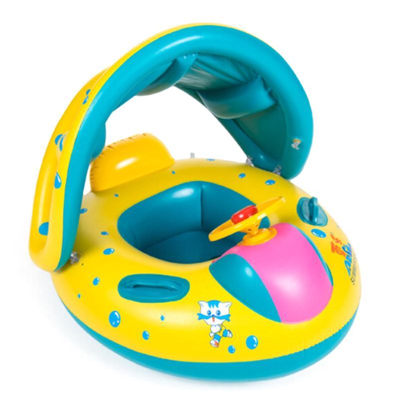 2018 2016 High Quality Safe Cartoon Baby Swimming Seat Ring Kids ...