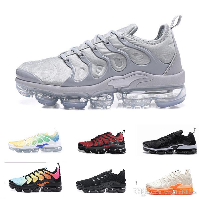 TN Plus VM In Running Shoes For Men Women Vapor Air Cushion Sports Sneakers  White Athletics Trainers Shoes Metallic Olive Maxes Size 36-46 Tn Tn Plus Tn  ... f8e3e81722d2