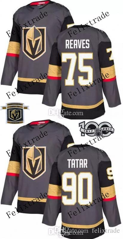 comfortable d5fae 7a0c1 2018 90 Tomas Tatar 75 Ryan Reaves Vegas Golden  Knights 2017 18 With ... 5878e0712