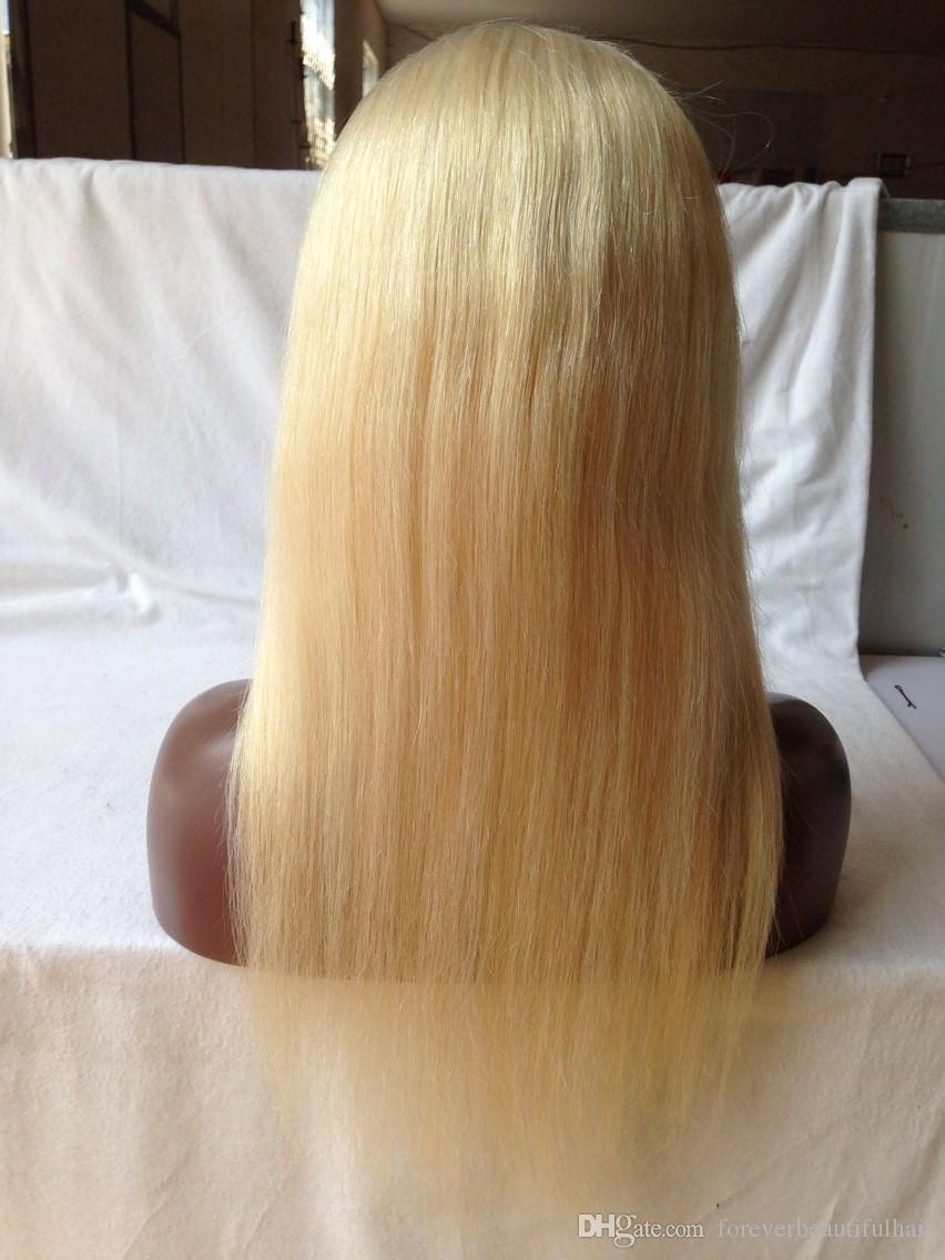Brazilian Hair Blonde Full Lace Wigs Glueless Lace Front Wig Human Hair Wigs For Black Women
