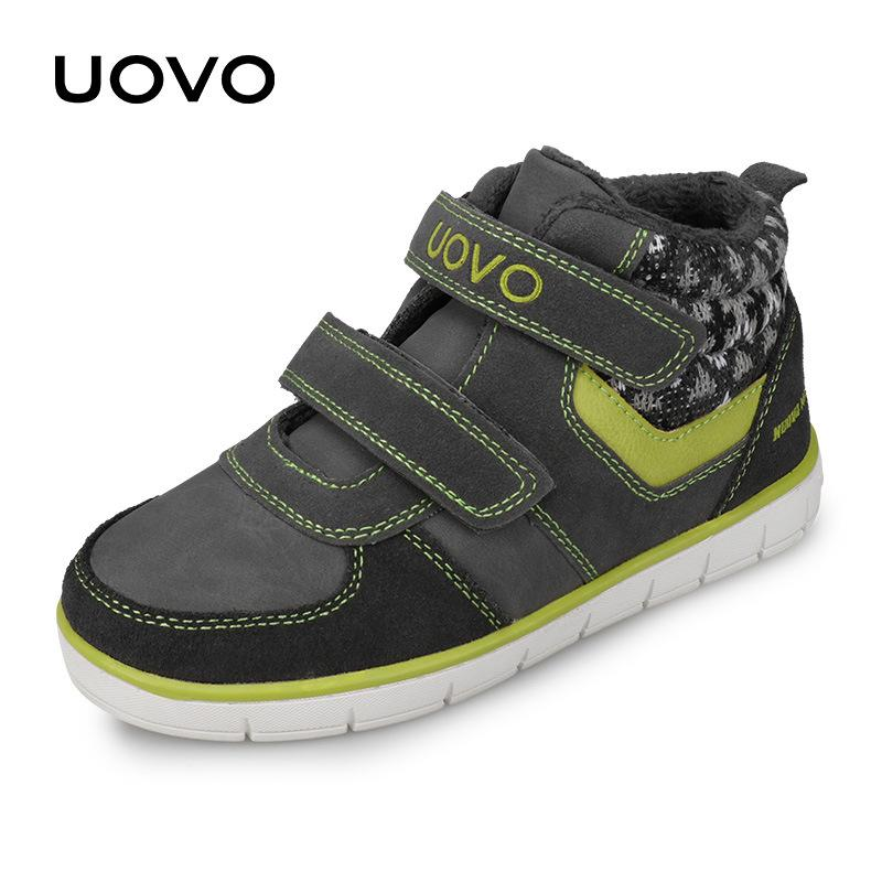 29a1630ecf5 UOVO Kids Casual Shoes 2018 New Fashion Boys And Girls Sneakers Autumn  Winter Kids School Shoes Children S Footwear Size 27  35  Kids Casual Shoes  Online ...