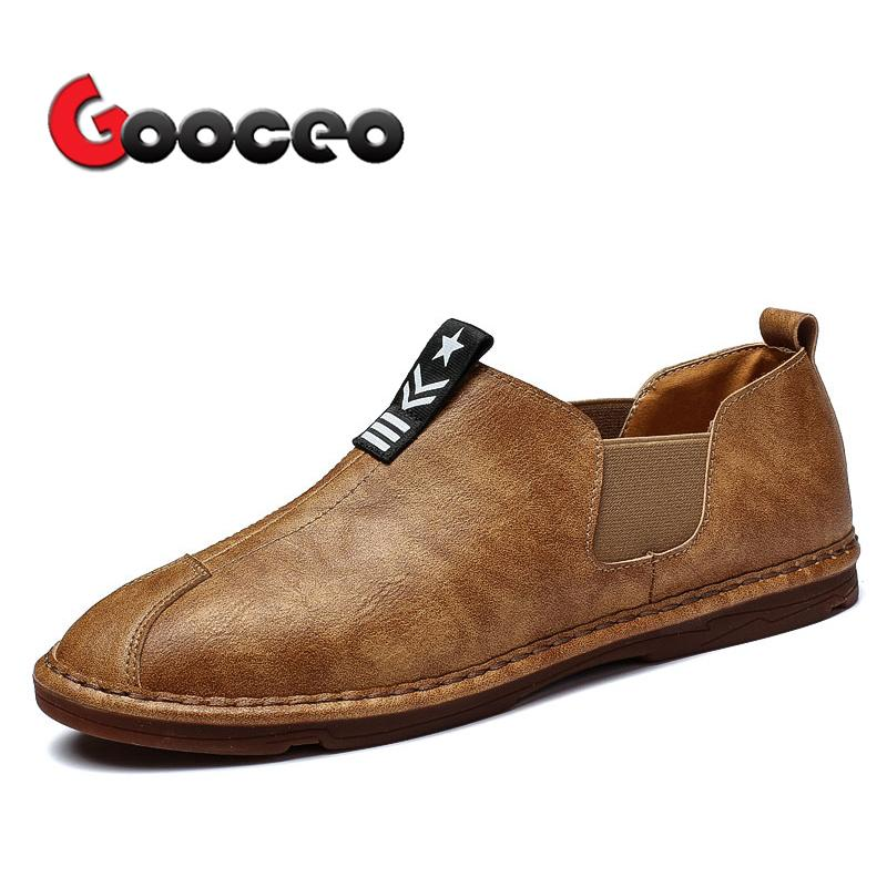 Mens Penny Loafers Flats Driving Shoes For Men Flat Spring Summer