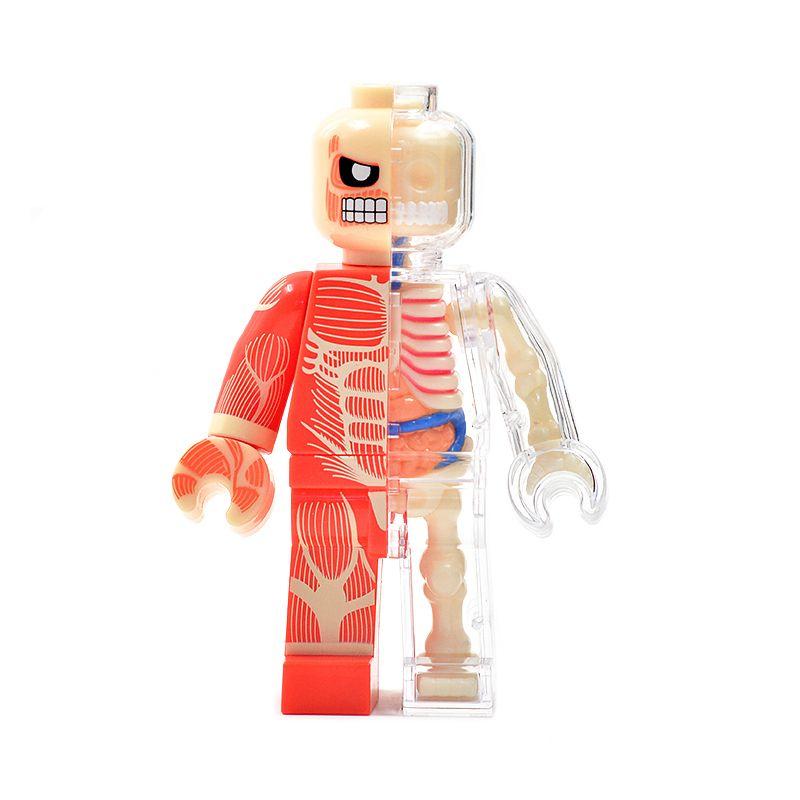 2018 Anime 4d Master Skeleton Anatomy Model Brick Man Doll Building ...