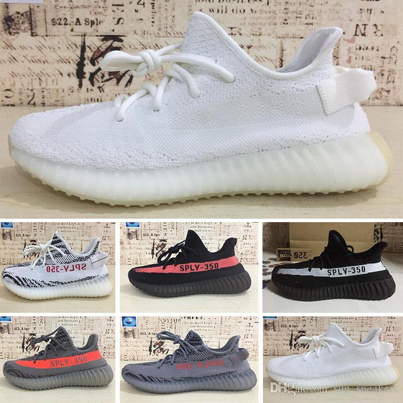 reputable site 7ed25 252ae Compre Designer Shoes Best Seller Boot 350 V2 Semi Frozen Amarillo Gris Azul  Tinte Zebra Rojo Noche Rojo Gris Beluga 2.0 Venta Al Por Mayor Zapatos Con  Caja ...
