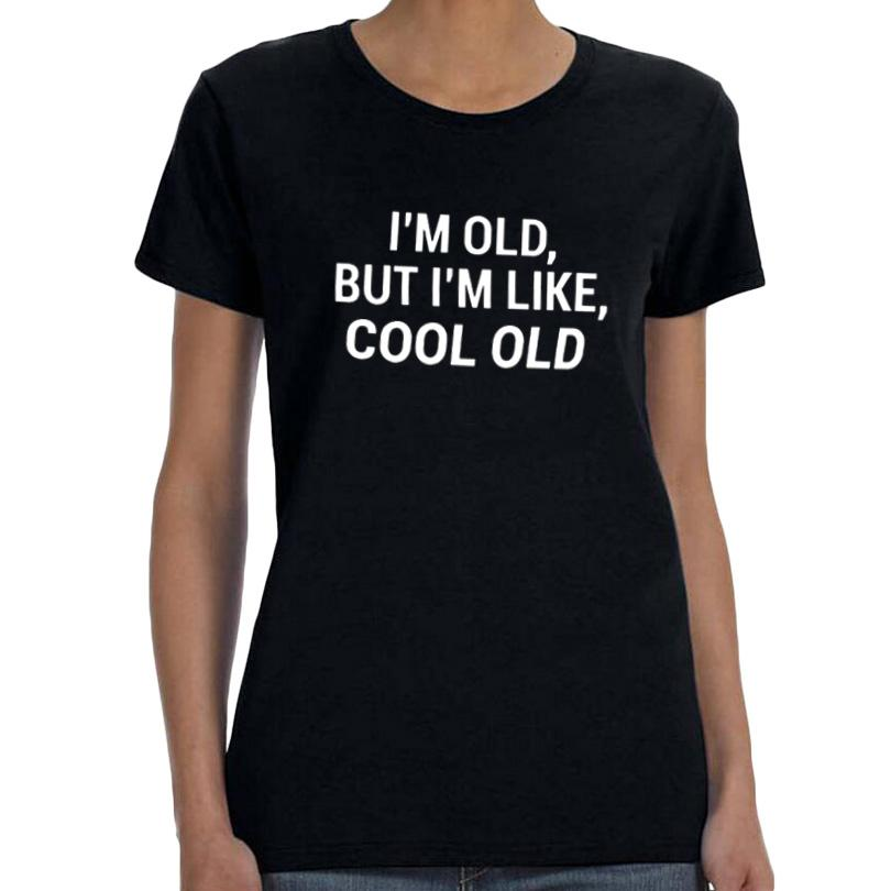 Womens Tee Women Hipster Funny Saying T Shirt Black And White Birthday Gift Turning 30 Years Old Im But Like Cool