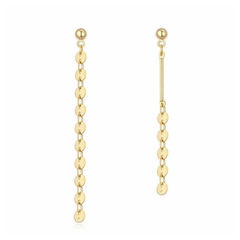 asymmetric Geometric sequent Drop earring Rock Street hip hop jewels girl dress accessories