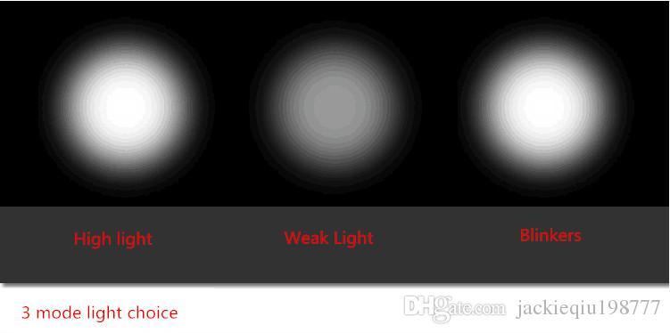 Su geçirmez Süper 3-Mod CREE 8000LM T6 Yakınlaştırma Led Far Fener Kafa Lambası 18650 Pil Şarj edilebilir Torch Açık Işık