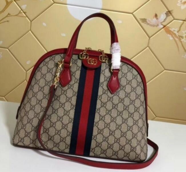 9d8575b26d2b TOP ORIGINAL BAGS 524533 RED LEATHER WOMAN BAG HANDBAG Hobo HANDBAGS TOP  HANDLES BOSTON CROSS BODY MESSENGER SHOULDER BAGS Boho Bags Bags For Sale  From ...