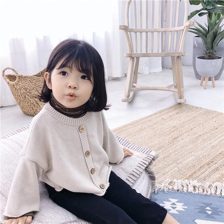 Mabeezo Wholesale Baby Girls Sweater Knitting Autumn Cotton Children ...
