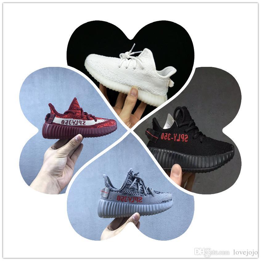 Adidas yeezy supreme 350 2018 350 V2 Zapatos Niños todo Juventud, deportes zapatos Zapatillas Boost 350 V2 niños Niños calzado deportivo
