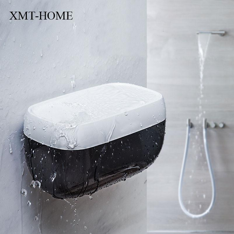 Marvelous 2018 Xmt Home Toilet Paper Holder Plastic Creative Tissue Canister  Waterproof Multifunctional Kitchen Room Paper Box Storage Rack From  Carmlin, ...