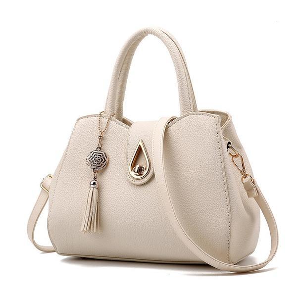 3b99b32805f Women's Handbag Female PU Leather Bags Handbags Ladies Portable Shoulder  Bag Office Bag Tote Purse