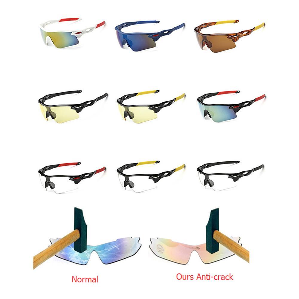 Compre Esportes Homens Óculos De Sol Ciclismo De Estrada Óculos Mountain  Bike Bicicleta Equitação Proteção Óculos Óculos Óculos De Sol Óculos De  Segurança ... 7692774ed4