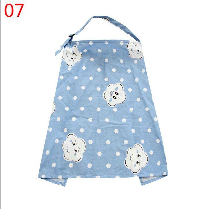17 färger multi-use baby mum bomull tecknad vårdkåpa amning ammande halsduk filt cape cover overclothes amning