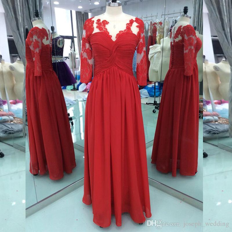 2018 Sexy Fashion Real Samples Prom Dresses vestidos de Noiva Formal Evening Dresses Chiffon Fabric Lace