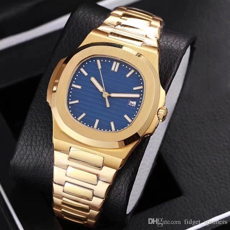Compre 2018 Nuevo Arrivel Reloj De Oro Amarillo Para Hombre Relojes De Lujo  es De Cristal De Zafiro Reloj Automático Aaa Relojes De Pulsera De Calidad  A ... 33a87b0cbb4b