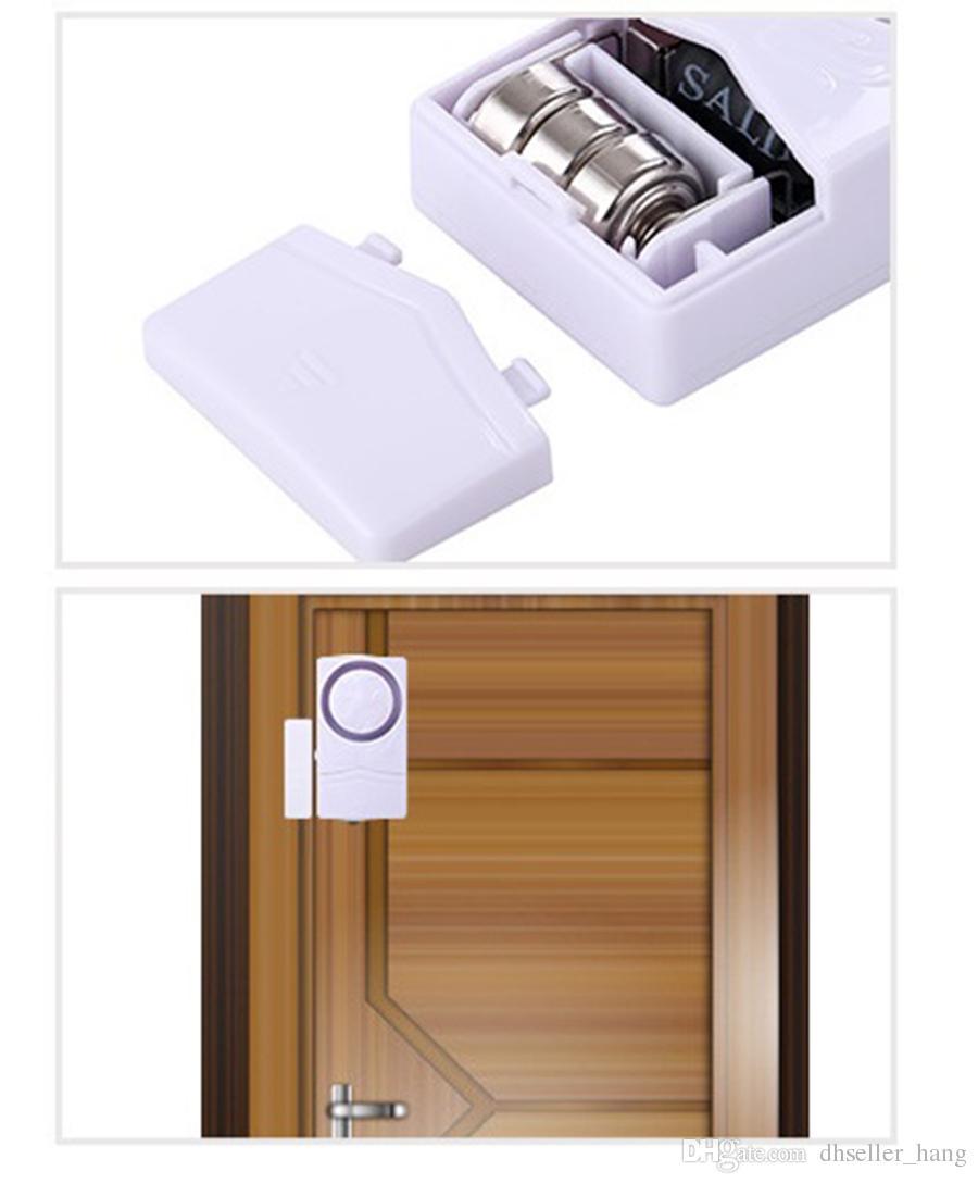 Wireless Door Window Entry Burglar Alarm System doorbell Security Guardian Protector Electronic magnetic sensor switch detects Entry